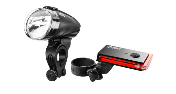 Red Cycling Products Bike Eye LED Beleuchtungsset schwarz